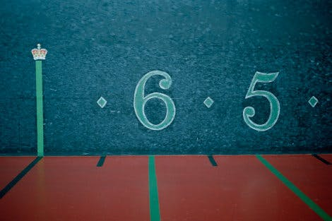View of numbers on the wall of the real tennis court at Hampton Court Palace
