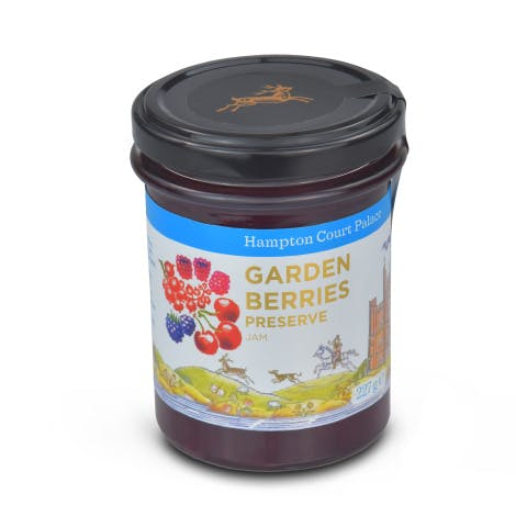 Inspired the Hampton Court Palace kitchen garden, this garden berry jam is perfect on toast for your breakfast or tea.