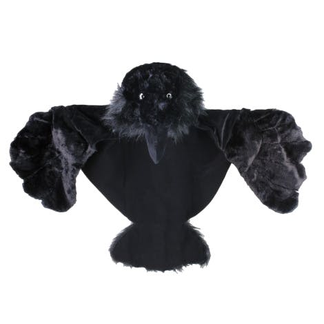 Tower of London raven dress up cape on a white background