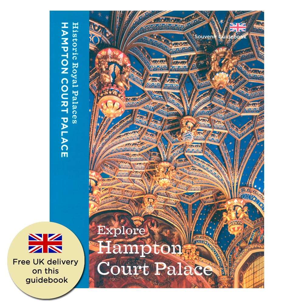 A souvenir guidebook highlighting the best things to do at Hampton Court Palace - an enjoyable read bursting with information.