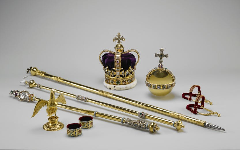Objects from the Coronation Regalia