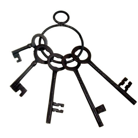 Tower of London Giant Keys