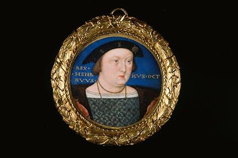 Henry VIII (1491-1547) June 1526-June 1527, by LUCAS HORENBOUT (C. 1490/5-1544)