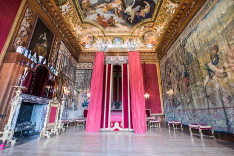 The King's Great Bedchamber, looking north. 