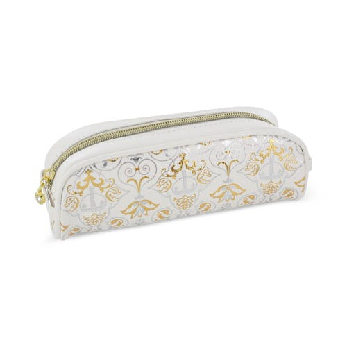 Royal Victoria Luxury White Pencil Case