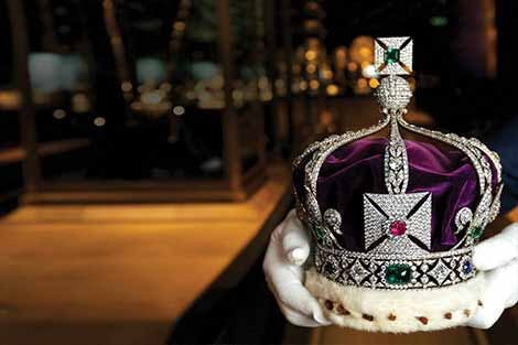Photo of the Crown Jewels