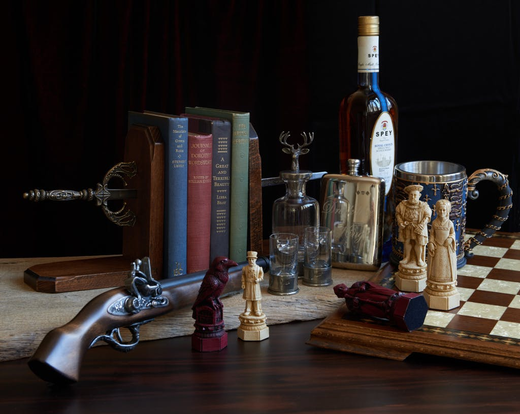 Gift selection of products inspired by the Tower of London from Historic Royal Palaces shop