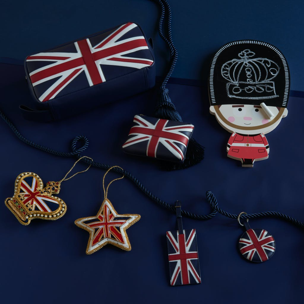 Union Jack gift collection from Historic Royal Palaces shop