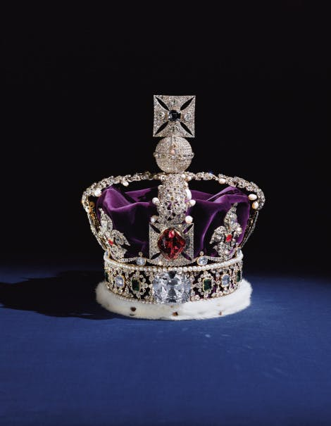 Photo of the Imperial State Crown