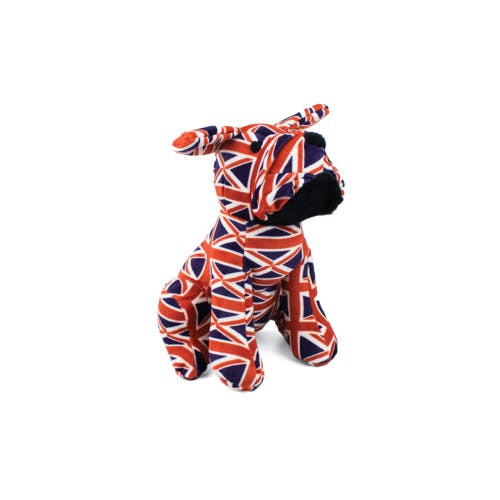 Union Jack bulldog doorstop - Union jack flag design fabric
