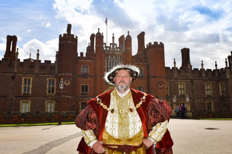 Henry VIII at Hampton Court Palace