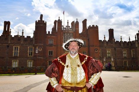 Henry VIII at Hampton Court Palace