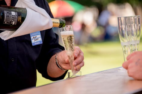 Food and drink at the Hampton Court Palace Good Food Festival 2017