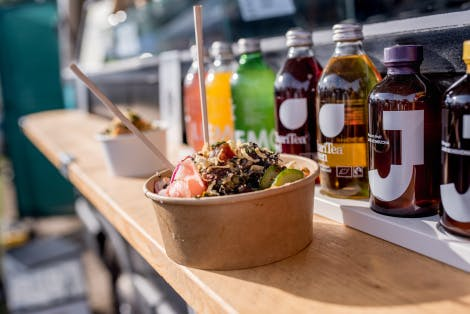 Food and drink at the Tower of London Good Food Festival 2017