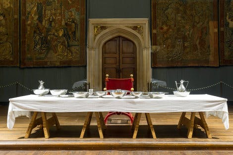 The Great Hall table