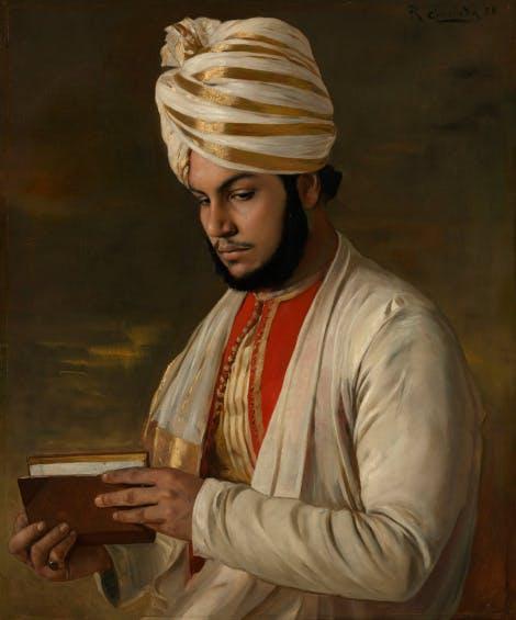 Portrait of Abdul Karim