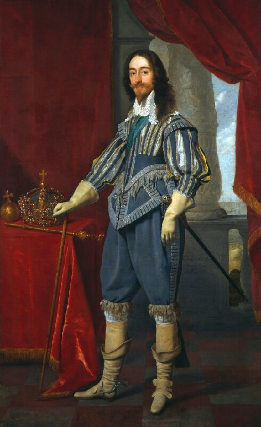 Portrait of King Charles I by Daniel Mytens