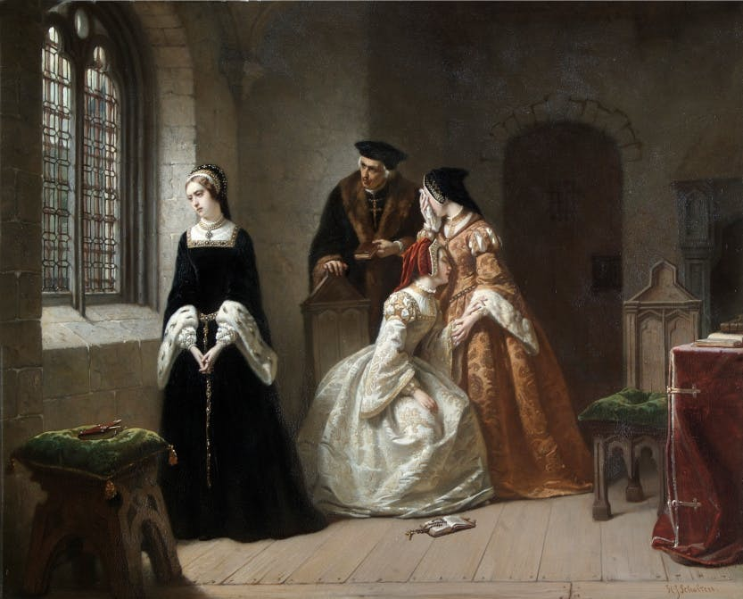 The Last Moments of Lady Jane Grey by Hendrik Jacobus Scholten.