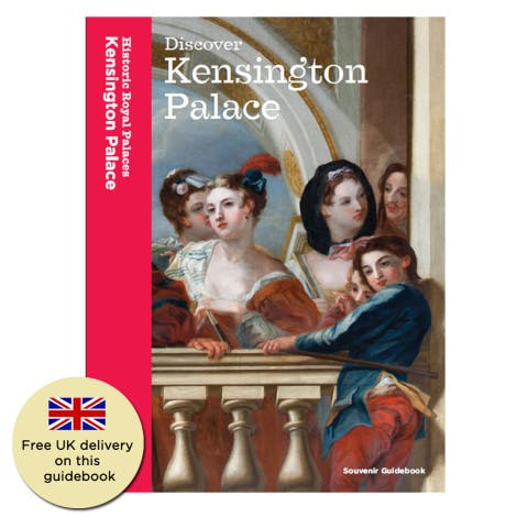 Discover the history and design of Kensington Palace and learn about the royals who lived there in the official guidebook.