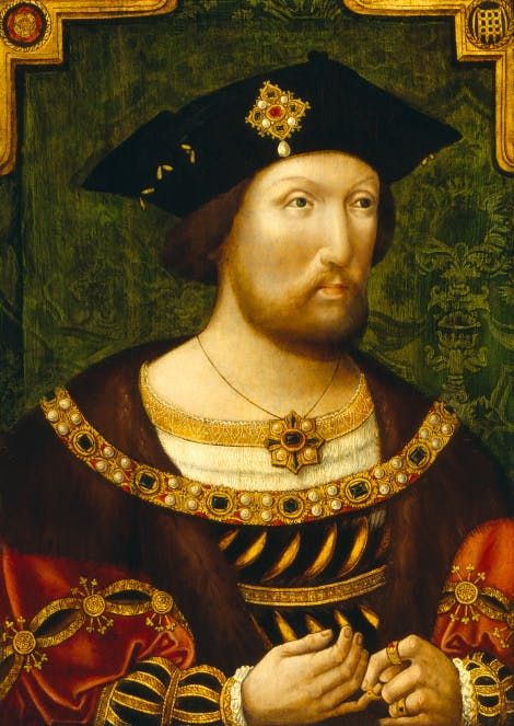 King Henry VIII circa 1520 National Portrait Gallery.