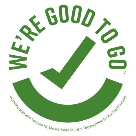 Good to Go Logo Northern Ireland industry standard logo 2020.
