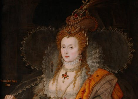Queen Elizabeth I, 'The Rainbow Portrait', c.1600