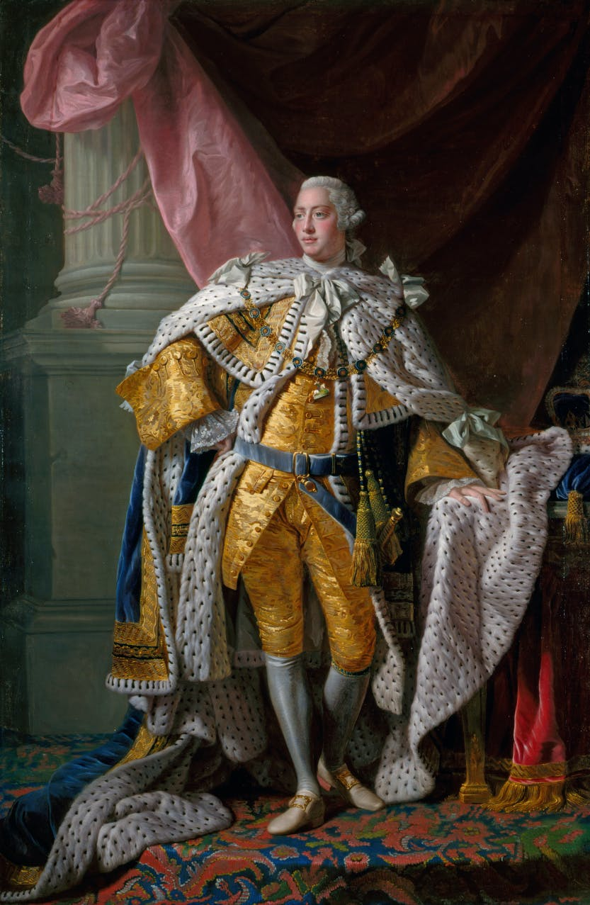 Portrait of George III