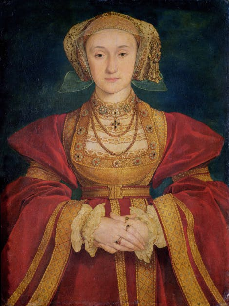 Anne of Cleves by Hans Holbein the Younger, Musée du Louvre, Paris.© Bridgeman Art Library