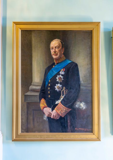 Painting, 'James Hamilton, 3rd Duke of Abercorn, 1st Governor of Northern Ireland', after John Archibald Alexander Berrie, oil painting.