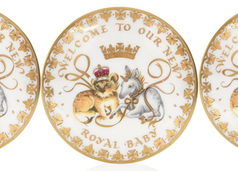 Royal baby commemorative chinaware 2018