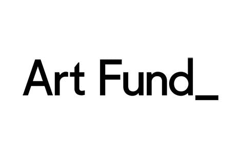 Art Fund logo, black on white