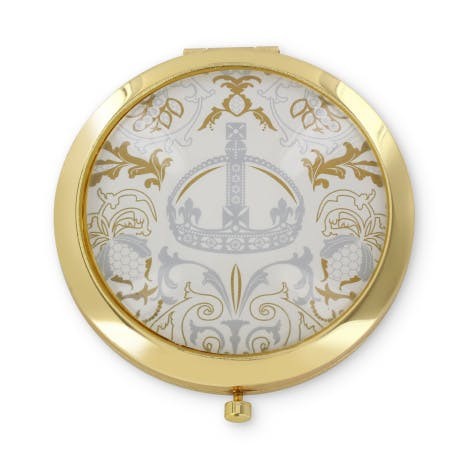 Royal Victoria compact mirror