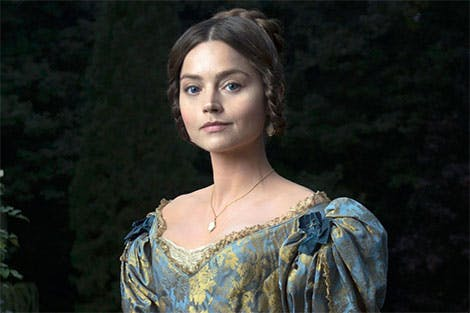 Jenna Coleman as Queen Victoria in the ITV series.