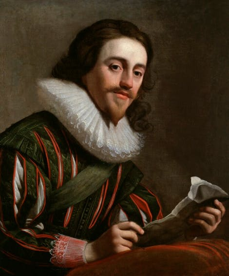 A portrait of King Charles I by Gerrit van Honthorst