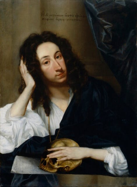 Portrait of diarist John Evelyn by Robert Walker