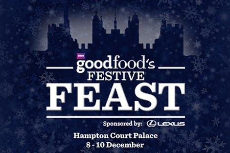 BBC Good Food Festive Feast 2017 logo