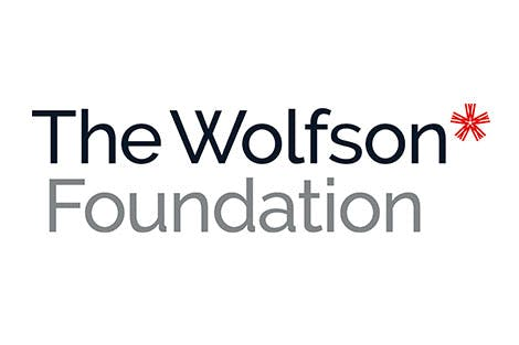The Wolfson Foundation logo on a white background