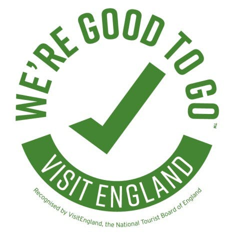 We're Good to Go' industry standard mark logo 2020
