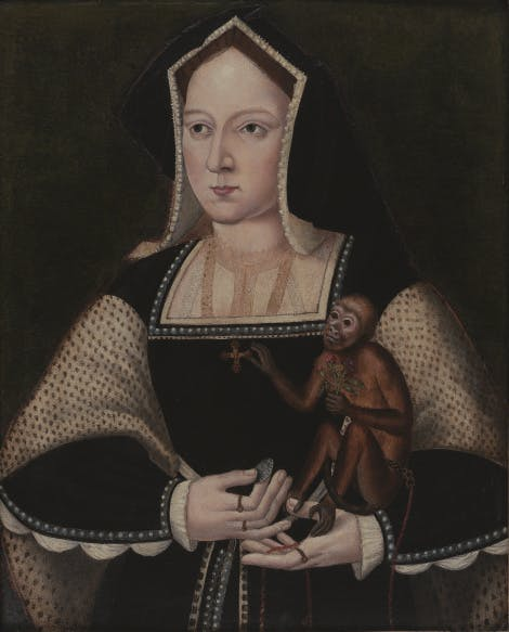 Portrait of Queen Catherine of Aragon, Private Collection / Photo © Philip Mould Ltd, London / Bridgeman Images