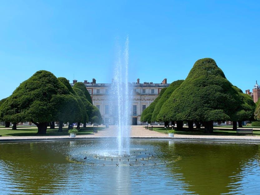 Great Fountain Garden
