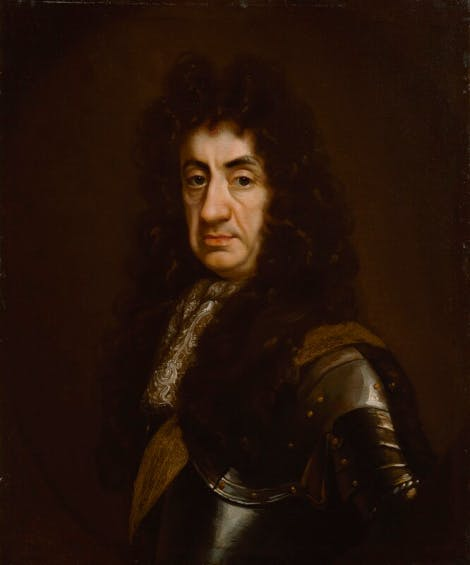 Portrait of King Charles II.