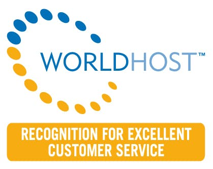 WorldHost Recognition Scheme logo