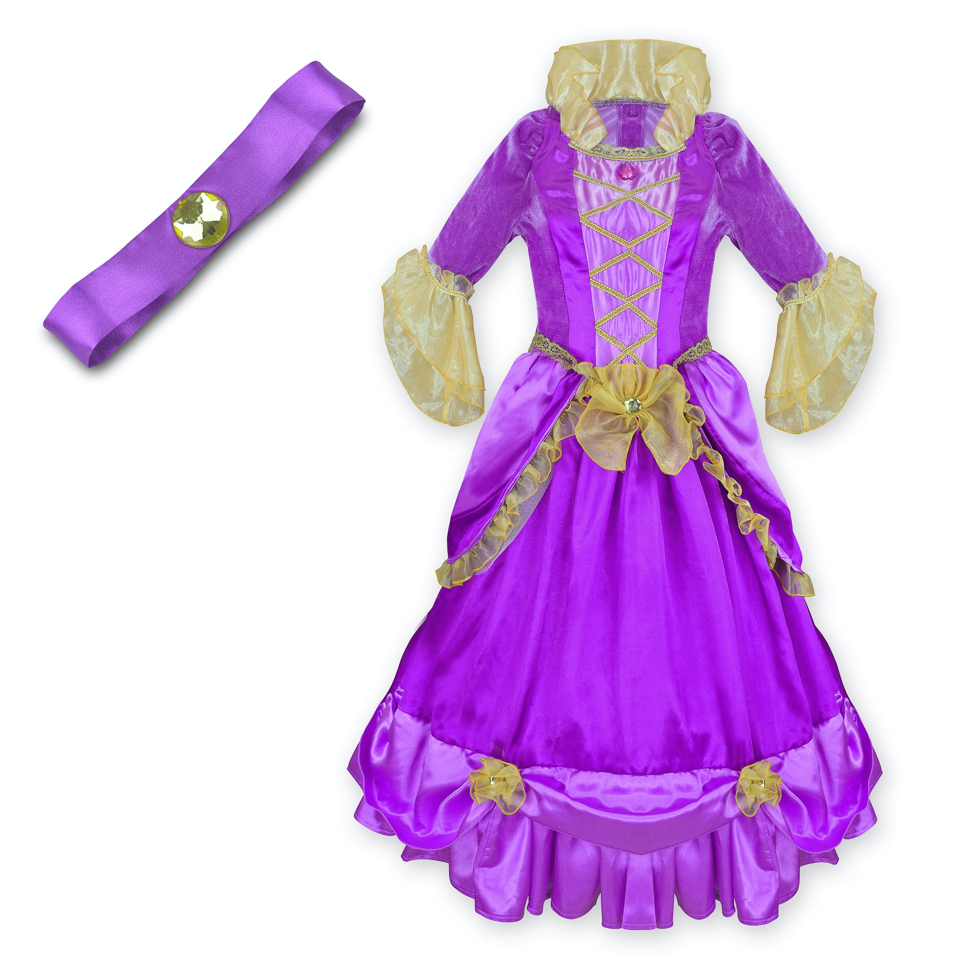 The perfect dress up, your little princess can glide around like a Georgian Princess with this pretty princess fancy dress.