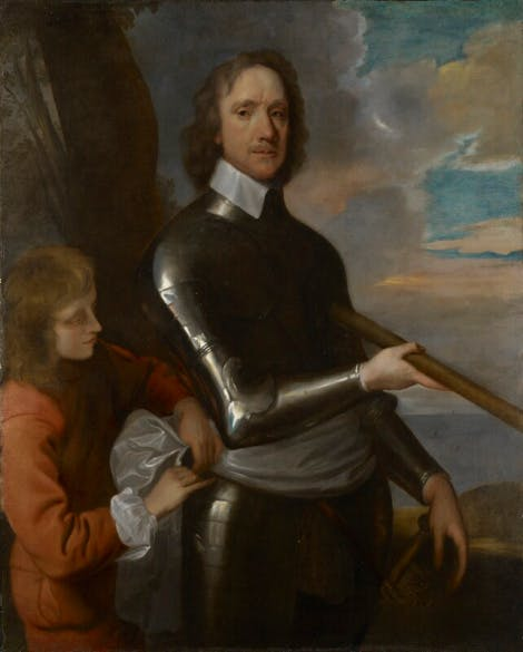 Painting of Oliver Cromwell by Robert Walker