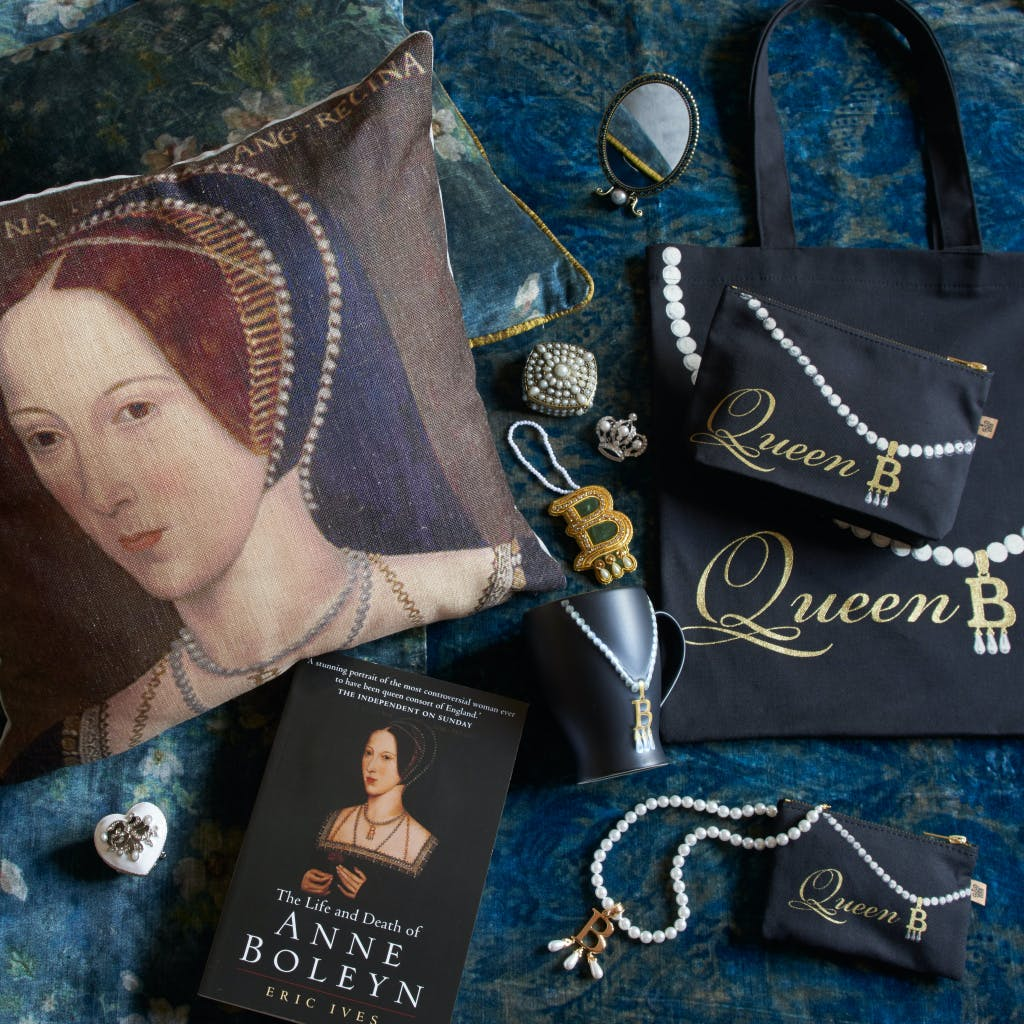 Historic Royal Palaces retail product- Queen Anne Boleyn merchandise
