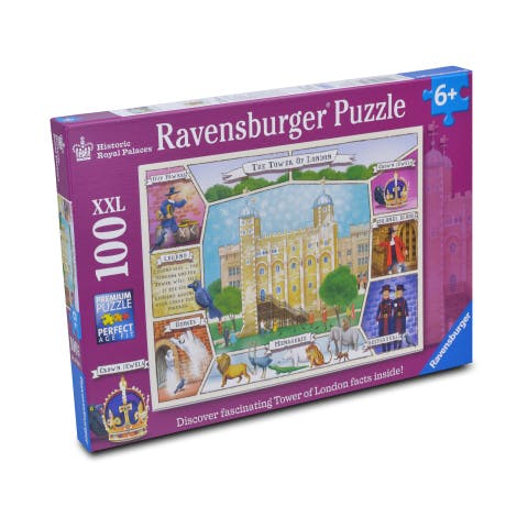 Tower of London 100 Piece Children's Jigsaw.  A chilling compendium of intriguing, obscure and strange facts and trivia about murders  from around the world.