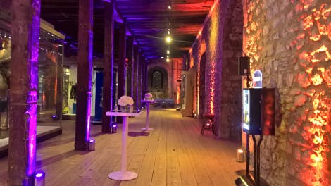 Tower of London set up for private event