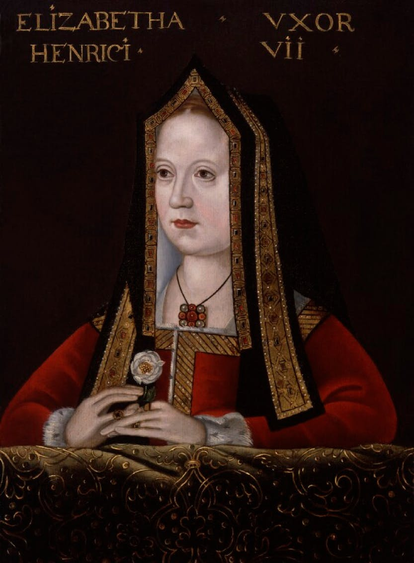 Portrait of Elizabeth of York