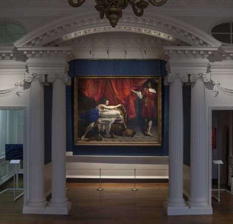 The former Cumberland Suite newly re-presented as a flexible royal art gallery with a rotating display of masterpieces from the Royal Collection.