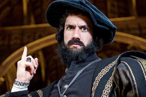 Actor in costume as Venetian Ambassador